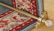 Crystal Crystal Runner Rods (for carpet runner) Rug