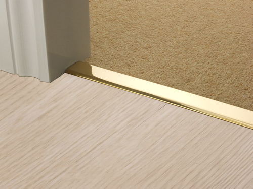 Z Door Bars in Brass, Antique, Satin and Bronze Z Bar Carpet To Hard Floor Rug