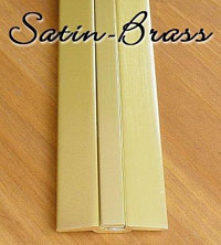 Joint JOINT - Satin Brass Finish Door Threshold Rug