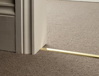 Minimalist Look Slim D Brass Finishes Rug