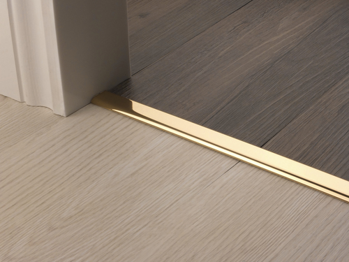 YZ All Other Products Floating Vinyl Edge in Brass Rug