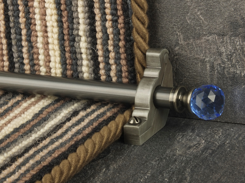 Crystal Runner Rods (for carpet runner)
