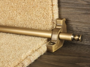 Premier Runner Rods For Carpet Runner (brass finishes)