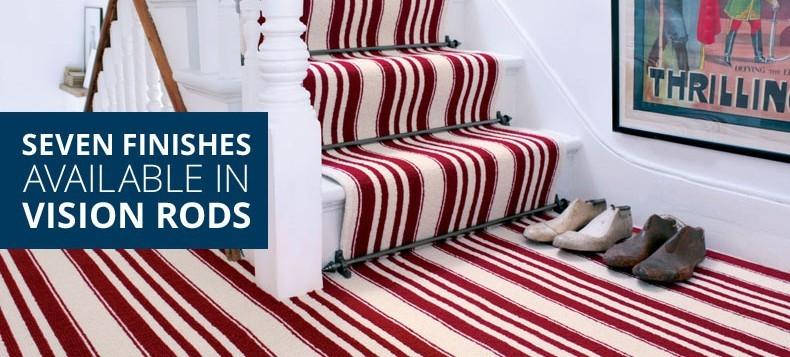 Buy Stair Rods, Carpet Rods Door Thresholds Online Direct