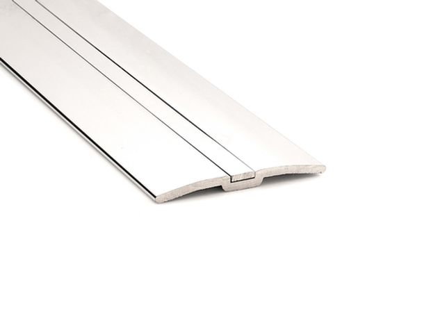posh door thresholds chrome nickel pewter black