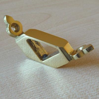 Buy Solid Brass Triangular Brackets For Stair Runners